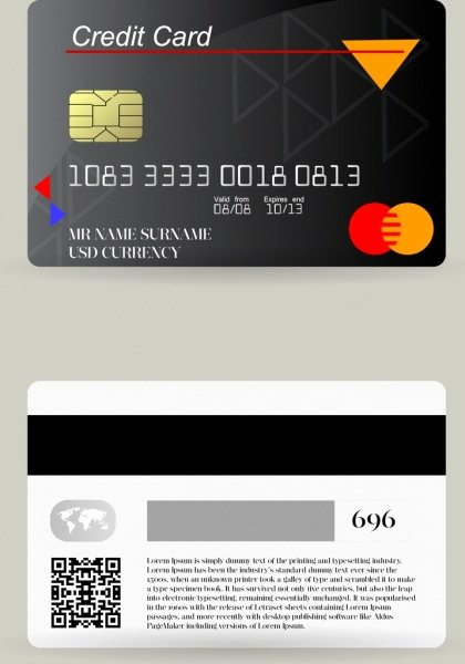 Credit Card Design Template Elegant Credit Card Chip Free Vector 12 785 Free Vector