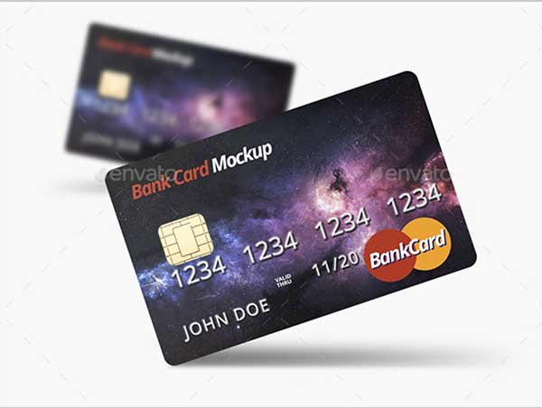 Credit Card Design Template Inspirational 44 Best Free Credit Card Mockup Psd Templates
