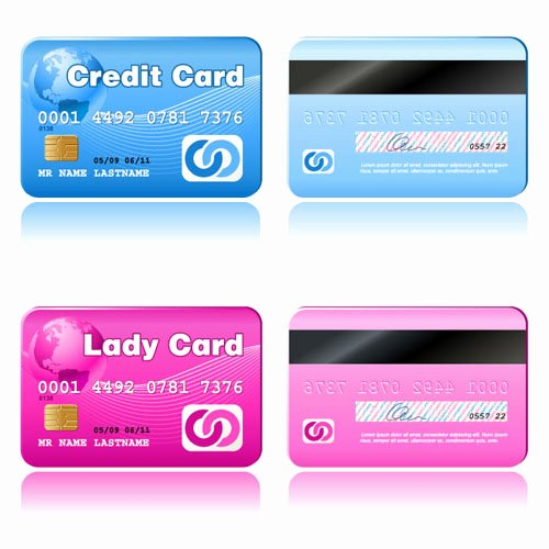 Credit Card Design Template Lovely the Gallery for Vintage Light Pink Background