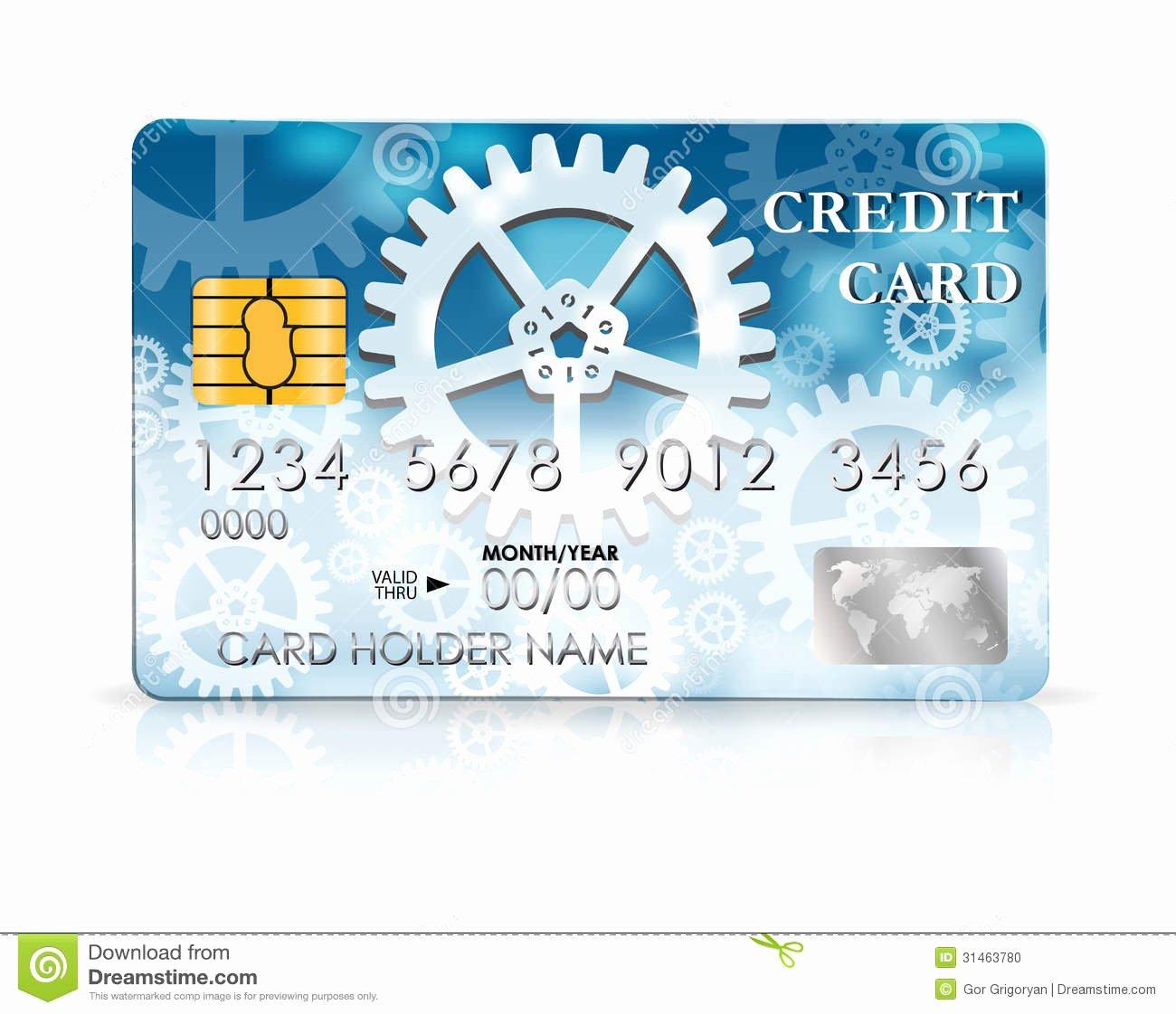 stock photo credit card design template vector illustration image