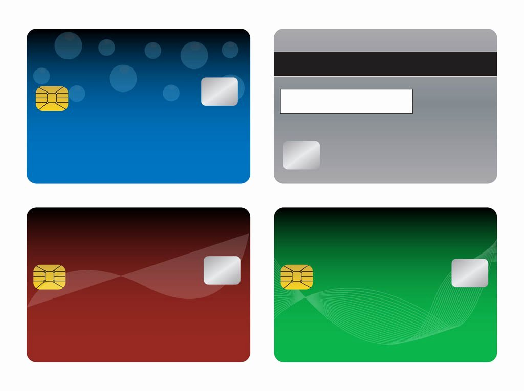 Credit Card Design Template New Bank Cards Templates