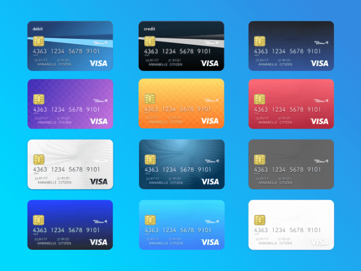 Credit Card Design Template Unique 12 Free Credit Card and Debit Card Designs Free Download
