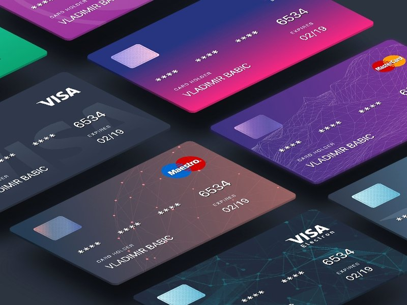 Credit Card Design Template Unique 19 Credit Card Designs