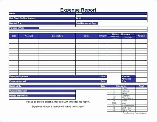 Credit Card Expense Report Template Awesome Monthly Credit Card Expense Report Template Excel Best