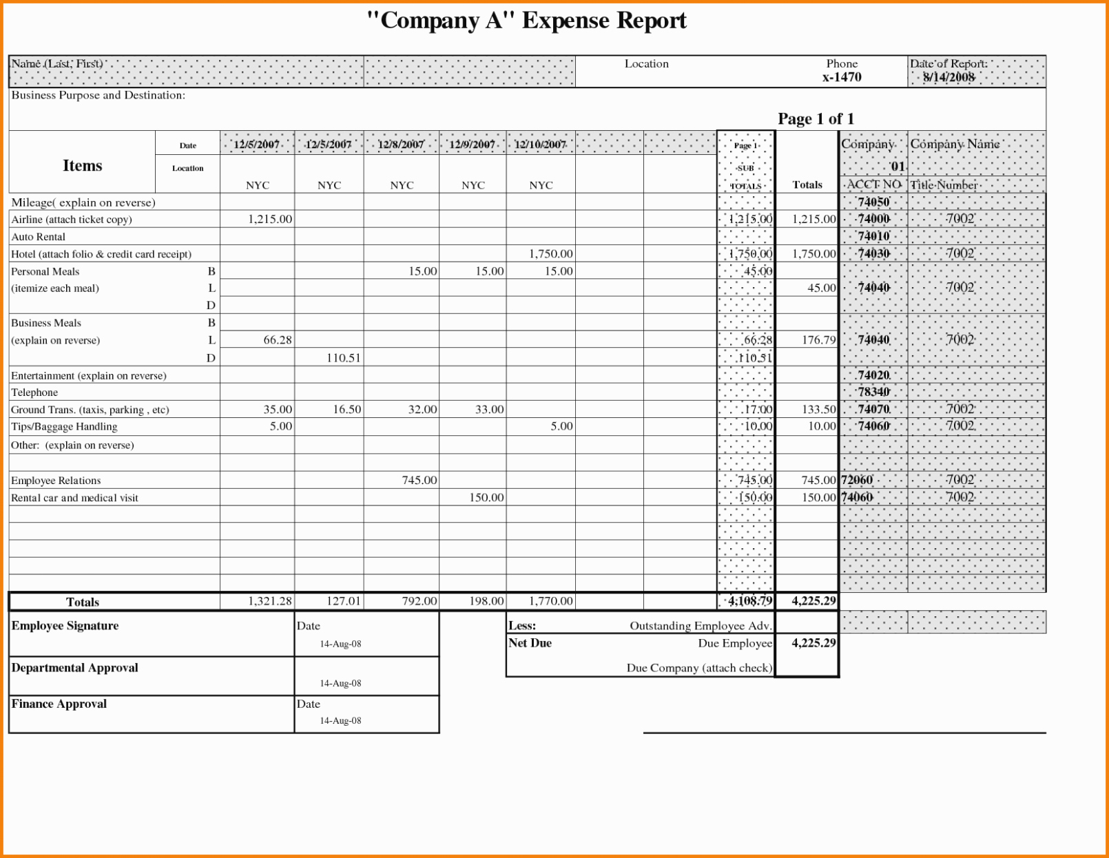 Credit Card Expense Report Template Fresh 11 New thoughts About Business Expense