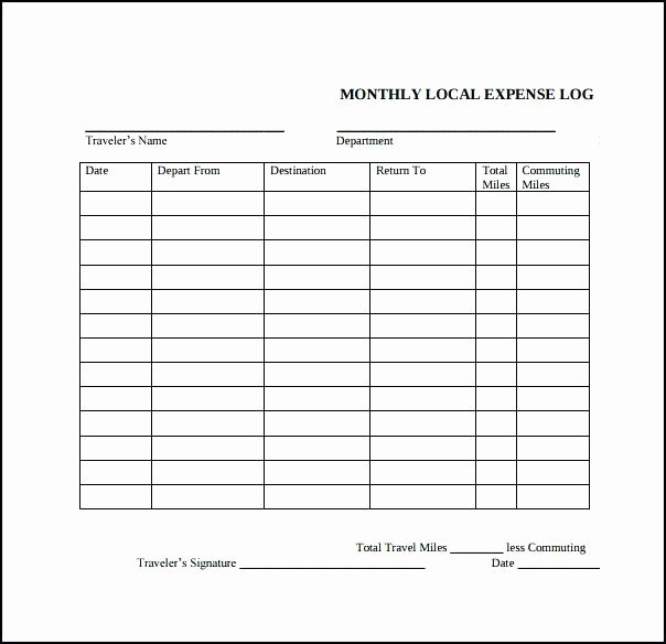 Credit Card Expense Report Template Luxury Simple Expense Report Template for Excel Weekly