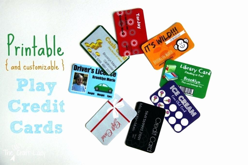 Credit Card Template Maker Best Of Printable Pretend Credit Cards – Vraccelerator