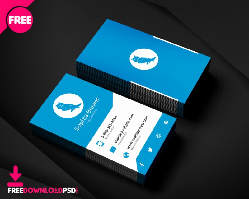 Credit Card Template Maker Fresh [free]corporate Business Card Template