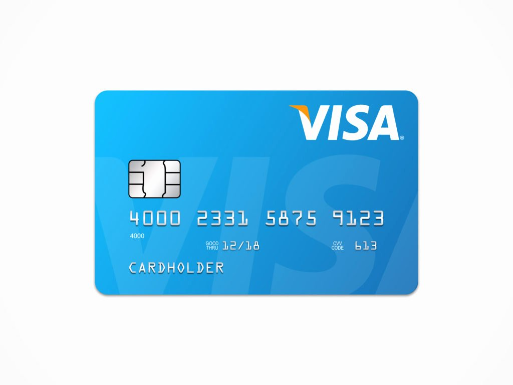 Credit Card Template Word Lovely Visa Card Template – Free Sketch