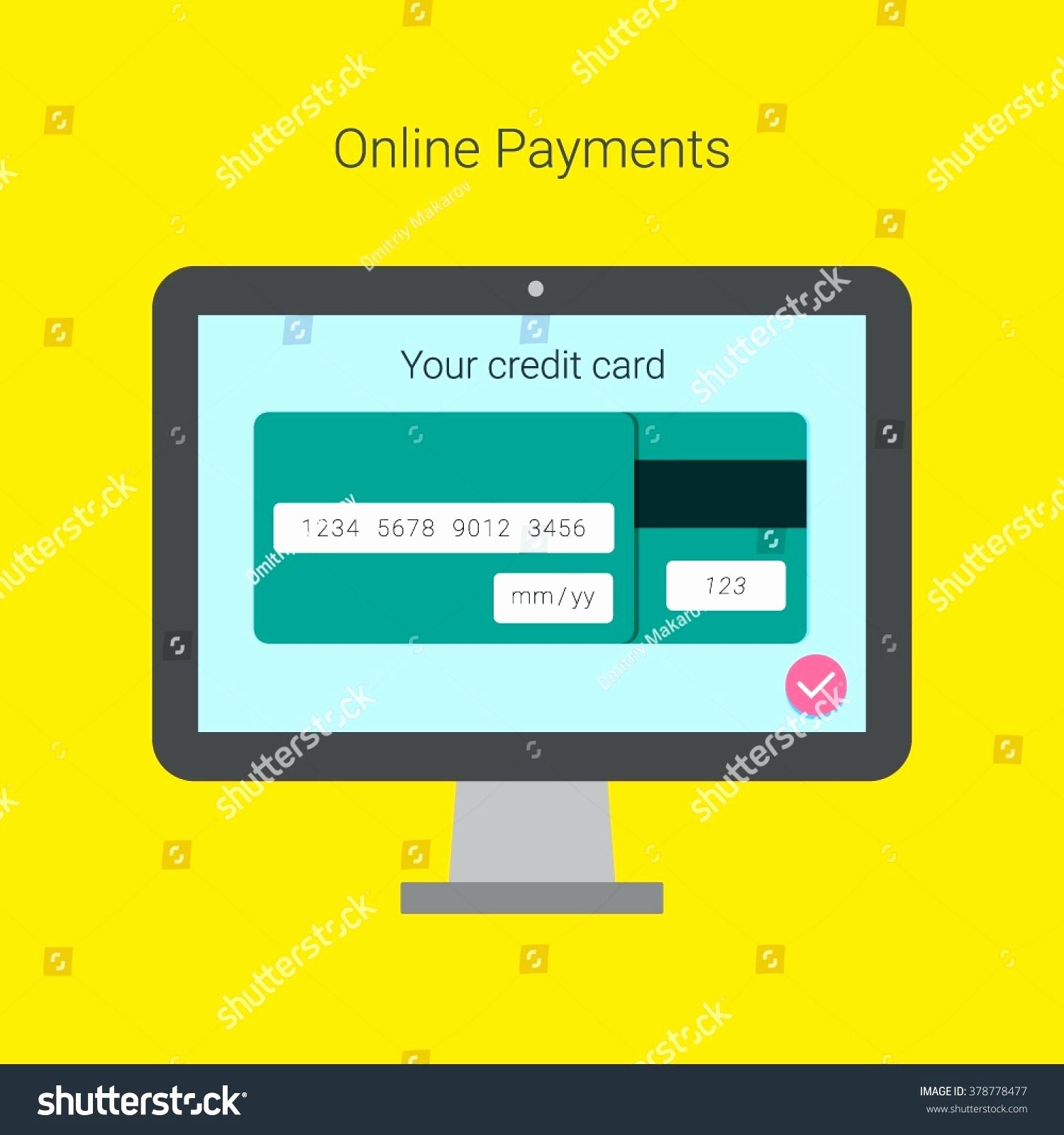 Credit Card Template Word Unique Template Credit Card forms Template