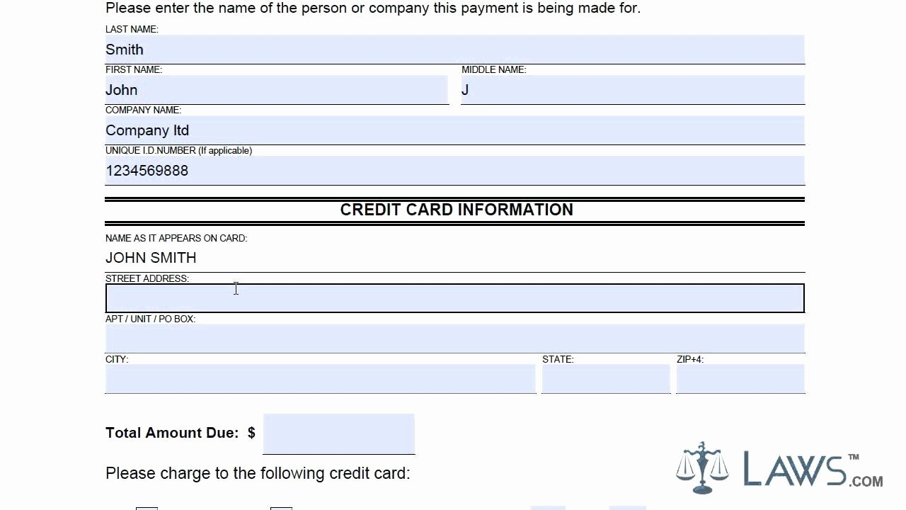 Credit Report Authorization form Template Beautiful Credit Card Authorization form