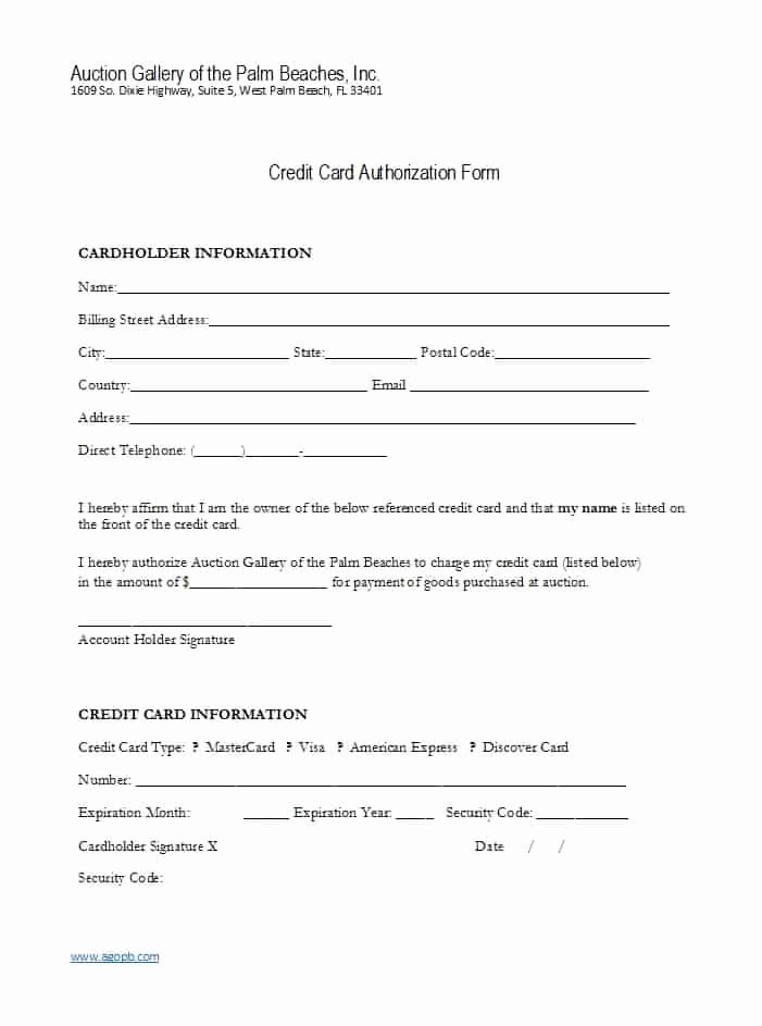 Credit Report Authorization form Template Best Of 41 Credit Card Authorization forms Templates Ready to Use