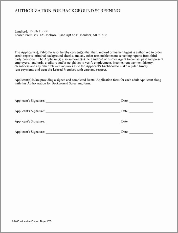 Credit Report Authorization form Template Best Of 6 Credit Report Authorization form Template Ypurt