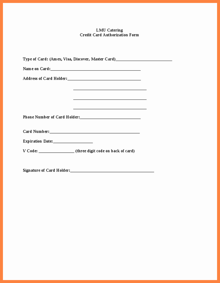 Credit Report Authorization form Template Unique Credit Report Authorization