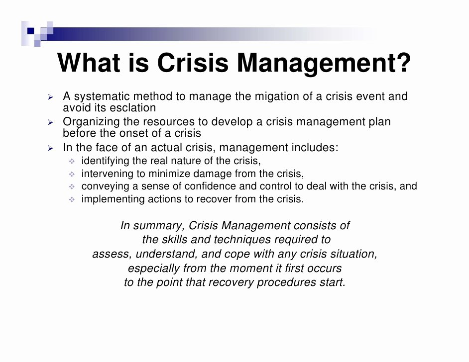 Crisis Management Plan Template Best Of Crisis Management Plan Template Choice Image Template