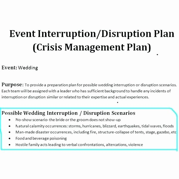 Crisis Management Plan Template Best Of Crisis Management Plan Template Download Individual
