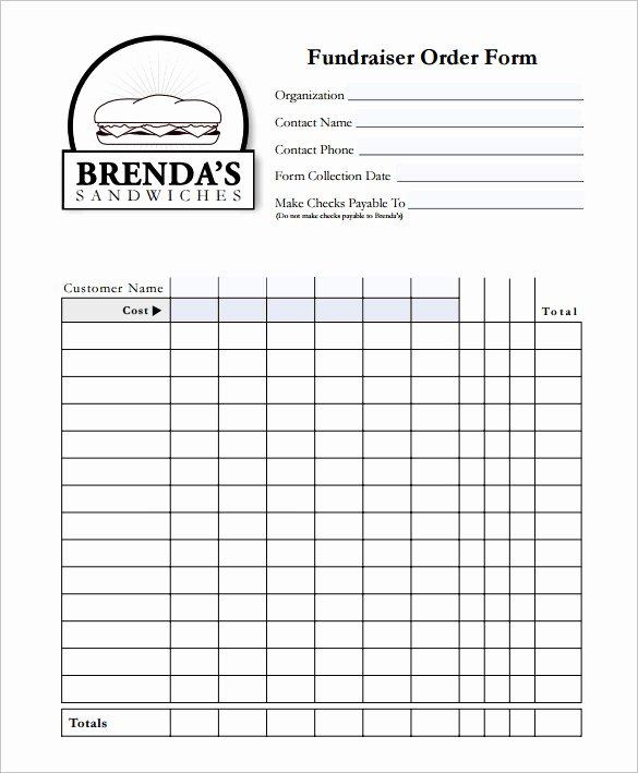 Custom order form Template New 29 order form Templates Pdf Doc Excel