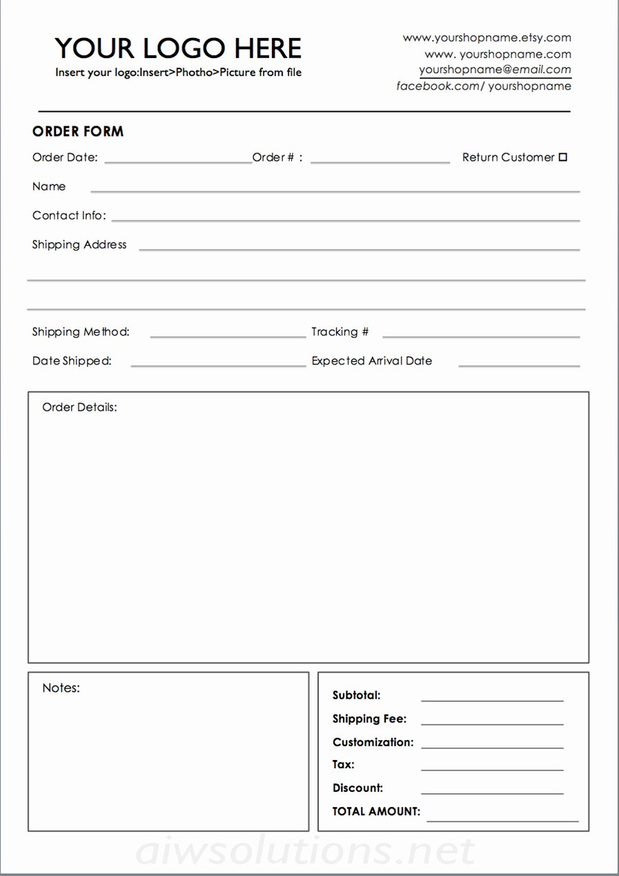 Custom order forms Template Lovely Custom Catalog Custom Line Sheet Line Sheet Design
