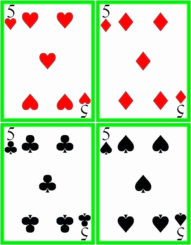 Custom Playing Card Template Best Of Custom Playing Card Template 8 Best Blank