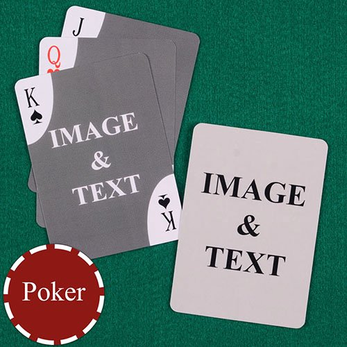 Custom Playing Card Template Best Of Decorative Corners Custom Front and Back Playing Cards