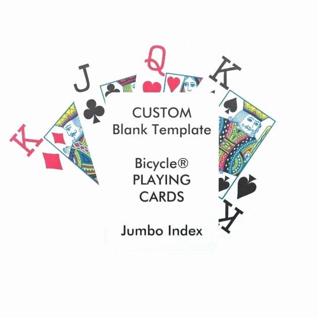 Custom Playing Card Template Elegant Custom Playing Card Template 8 Best Blank