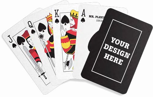Custom Playing Card Template Inspirational Request A Custom Playing Card Design Quote