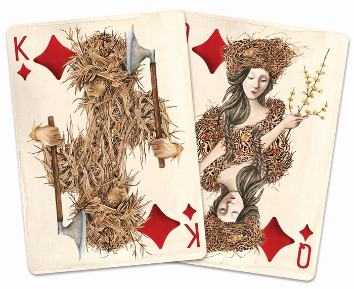 Custom Playing Card Template Lovely Pagan Custom Playing Cards