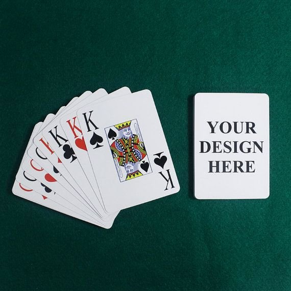 Custom Playing Card Template Luxury Best 25 Personalized Playing Cards Ideas On Pinterest