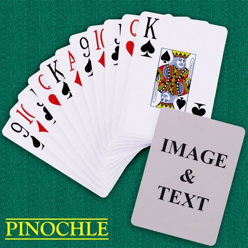 Custom Playing Card Template Luxury Custom Pinochle Jumbo Index Playing Cards