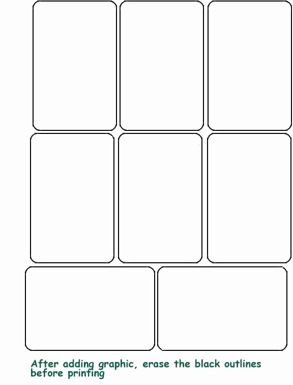 Custom Playing Card Template New Custom Playing Card Template 8 Best Blank