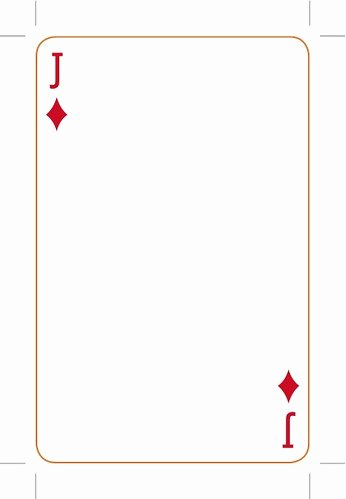 Custom Playing Card Template New Eye Magazine Blog