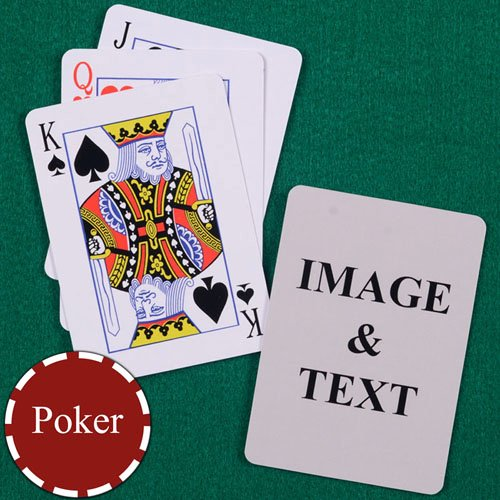 Custom Playing Card Template Unique Make Your Own Playing Cards