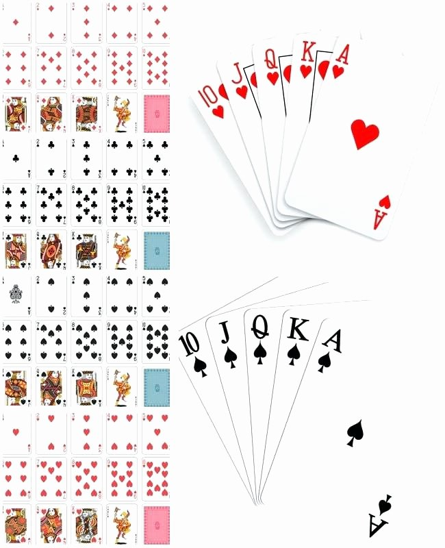 Custom Playing Card Template Unique Vector Playing Card Template – Bestuniversitiesfo