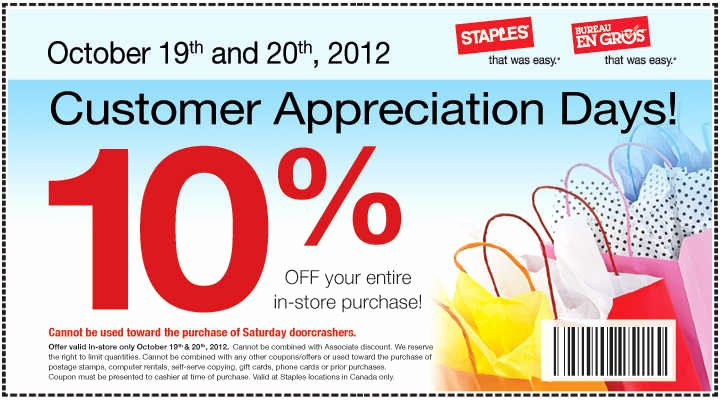 Customer Appreciation Day Flyer Template Beautiful Staples Archives Hot Canada Deals Hot Canada Deals