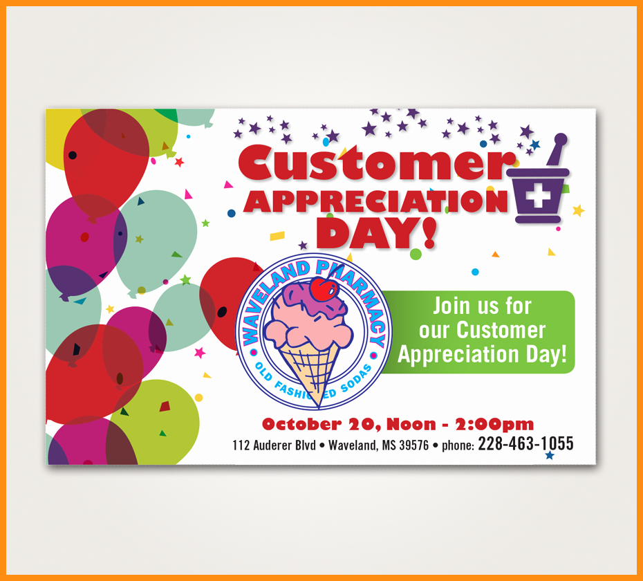 Customer Appreciation Day Flyer Template Best Of 8 Customer Appreciation Flyer Template