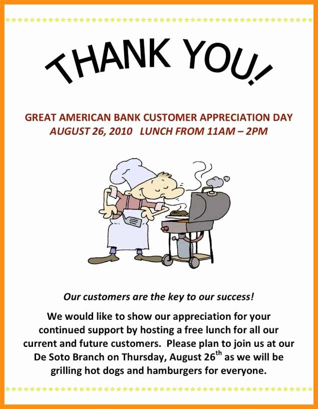 Customer Appreciation Day Flyer Template Lovely 8 Customer Appreciation Flyer Template