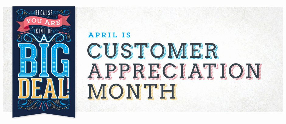 Customer Appreciation Day Flyer Template Unique Customer Appreciation Month Submit Your Printed Artwork