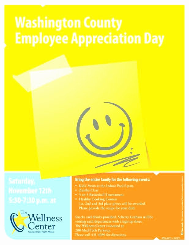 Customer Appreciation Day Flyer Template Unique Employee Appreciation You Letter Template while Leaving A