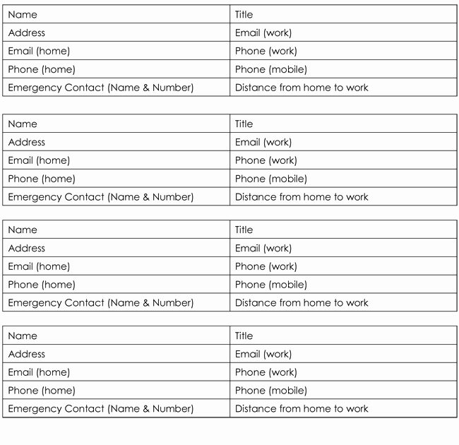 Customer Contact List Template Inspirational 9 Customer Contact List Templates In Word and Excel