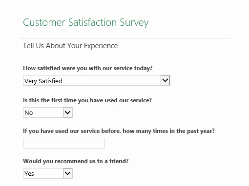 Customer Satisfaction Survey Template Word Awesome Workplace Survey