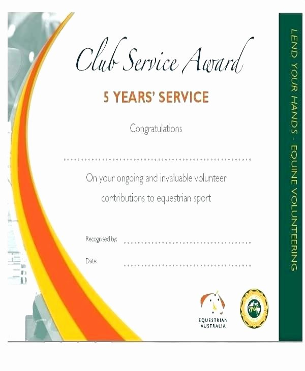 Customer Service Award Template Fresh Service Award Template Free Award Template Munity