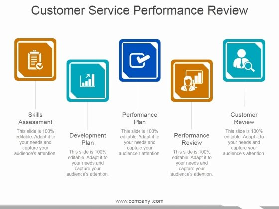 Customer Service Performance Review Template Luxury Performance Review Presentation Template Customer Service