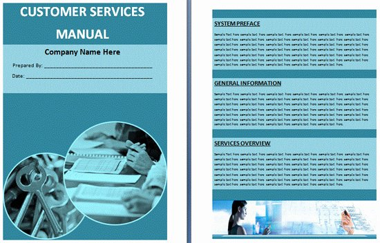 Customer Service Training Manual Template Unique Boring Work Made Easy Free Templates for Creating Manuals