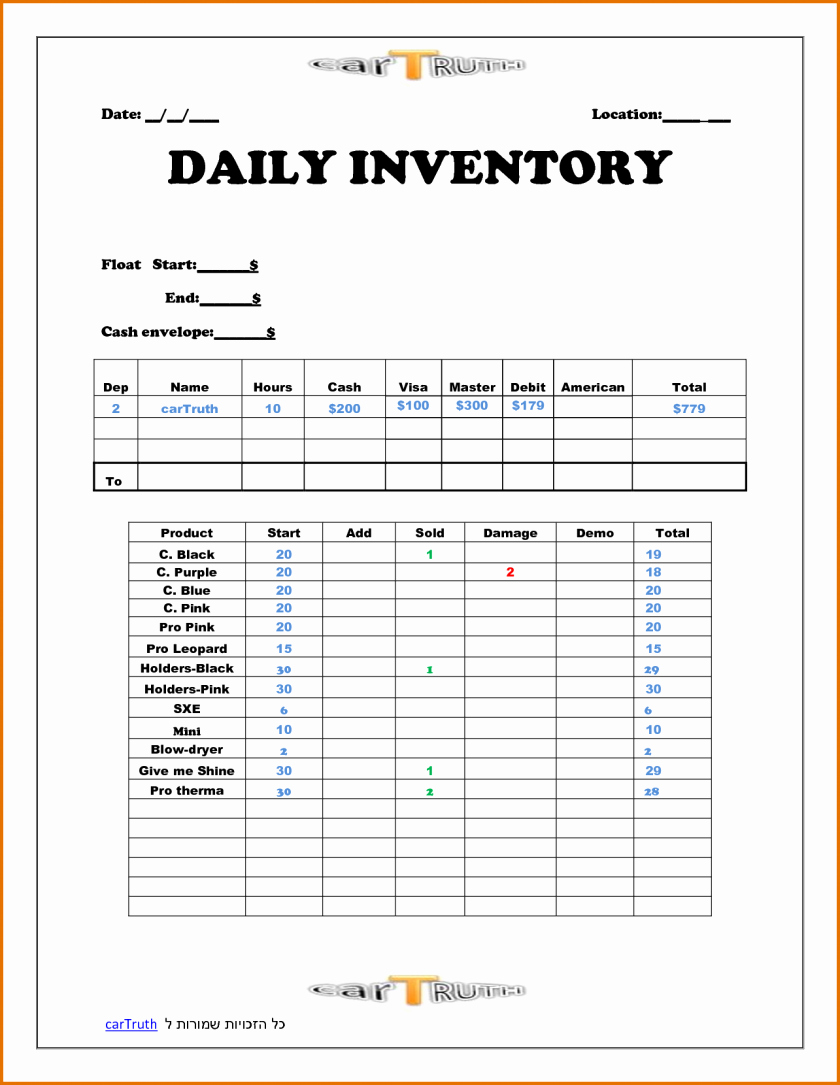 Daily Activity Report Template Excel Fresh Daily Sales Report Template