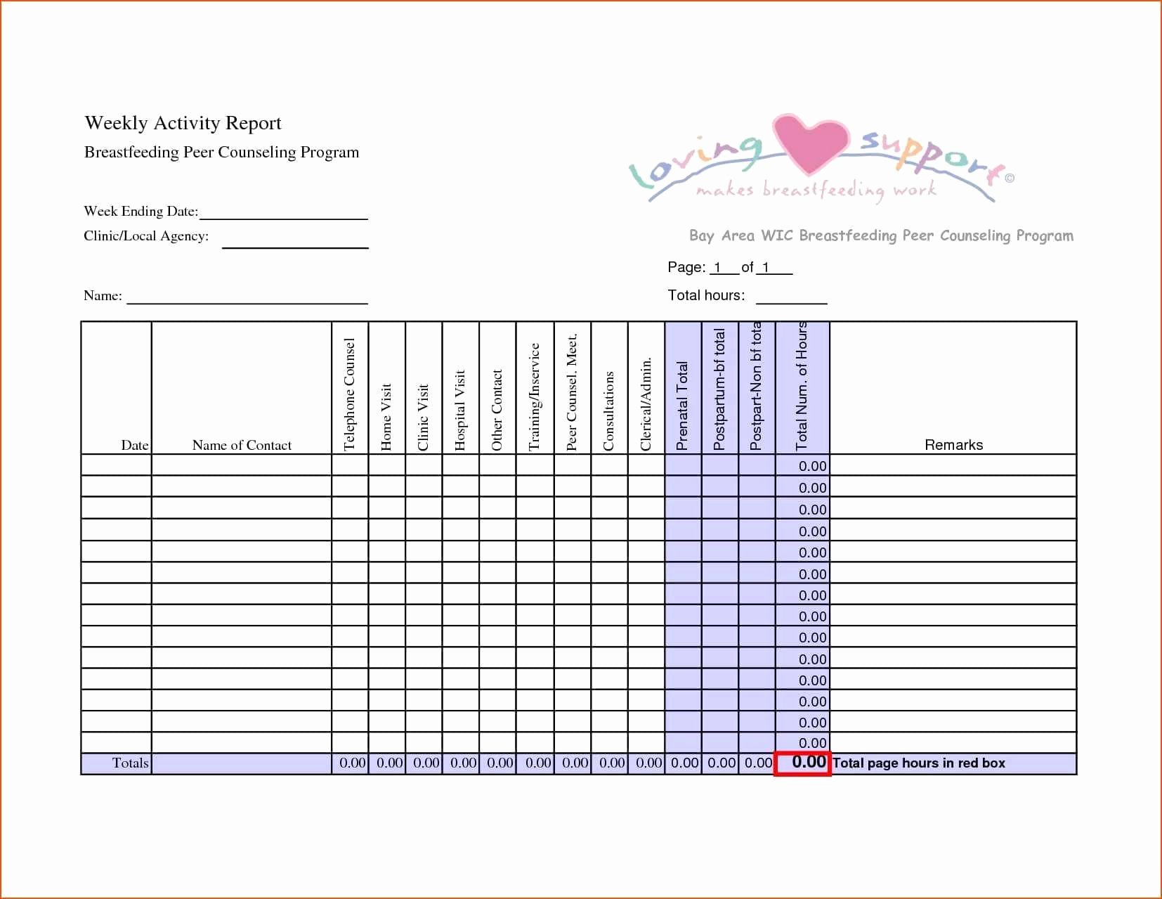 Daily Activity Report Template Excel Fresh Restaurant Daily Sales Report format In Excel Glendale