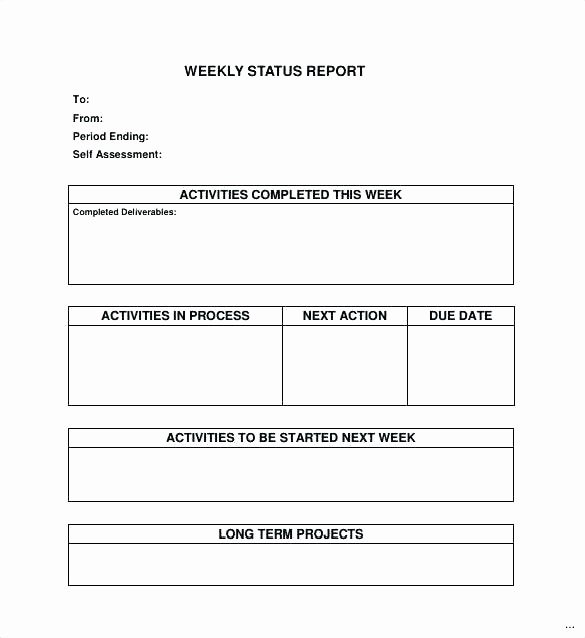 Daily Activity Report Template Excel Unique Daily Activity Report Template Excel Weekly Activities
