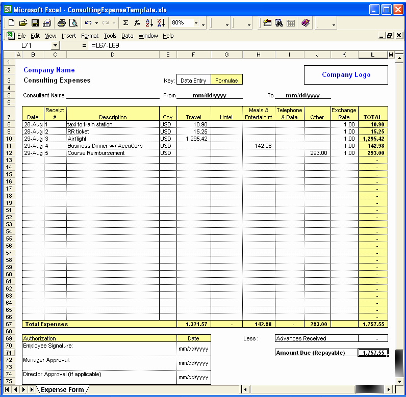 Daily Budget Template Excel Awesome Daily Fice Expenses Sheet In Excel format Templates