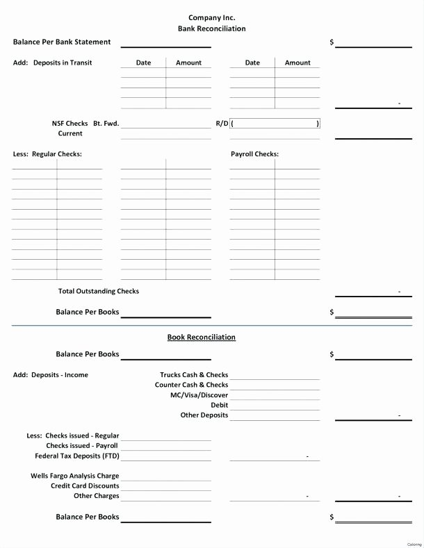 Daily Cash Reconciliation Template New Daily Reconciliation Sheet Template Daily Cash Flow