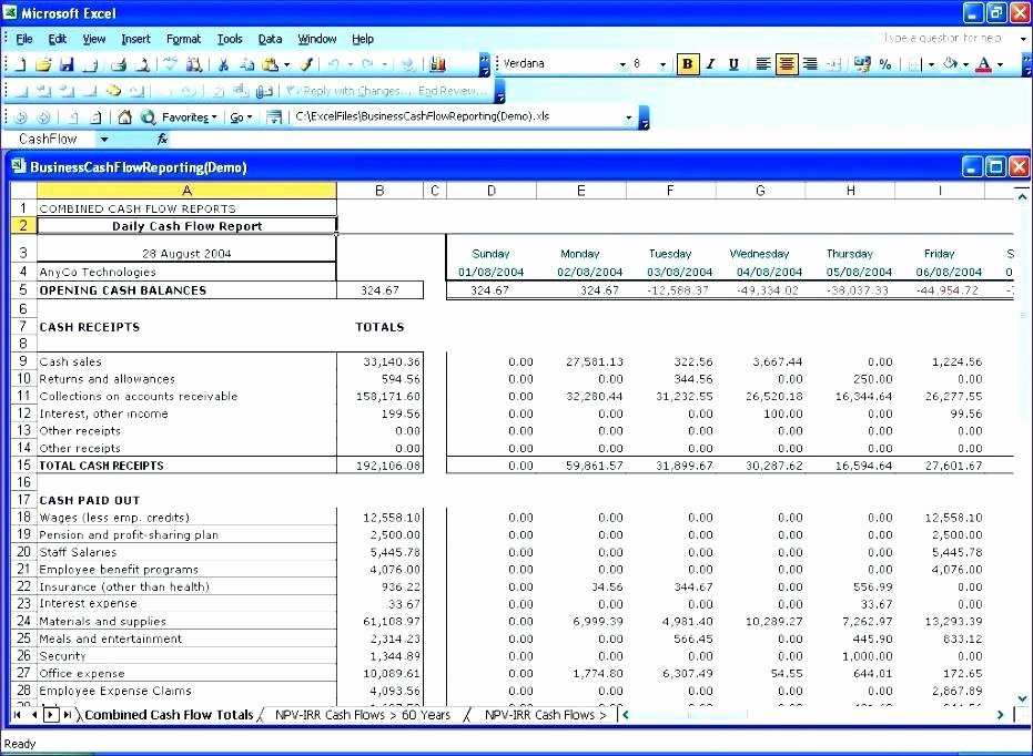 Daily Cash Report Template Excel Luxury 98 Cash Position Report Template 12 Month Cash Flow