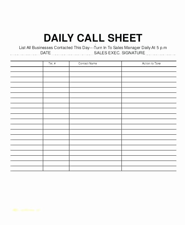 Daily Log Template Excel Unique Project Manager Daily Log Template